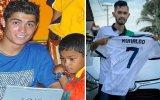 Cristiano Ronaldo e Martunis