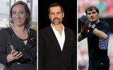 Maria Rueff, Filipe Duarte e Iker Casillas