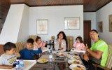 Georgina Rodríguez e a família