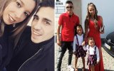 Sónia Jesus e Vítor Soares com a filhas Maiara e Naisa