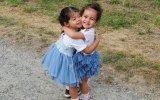 Alana e Eva, filhas de Cristiano Ronaldo