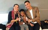 Dolores Aveiro, Cristianinho e Cristiano Ronaldo