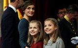 Letizia, Leonor e Sofia