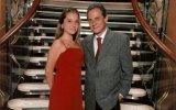 Ana Catharina com o pai