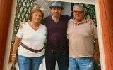 José Raposo com os pais