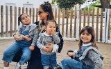 Carolina Patrocínio derrete fãs com vídeo da filha mais nova a nadar