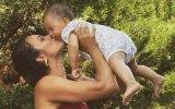 Cláudia Vieira assinala 10 meses de Caetana com nova foto e fãs deixam-se encantar