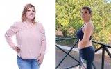 Noélia revela que já perdeu 10 quilos desde que mudou de estilo de vida
