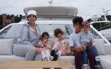 Georgina Rodríguez com os quatro filhos