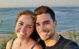 Miguel Oliveira e a namorada Cristina