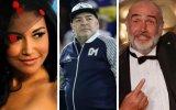 Naya Rivera, Diego Maradona e Sean Connery