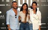Maria Cerqueira Gomes e o ex-marido Gonçalo Gomes com filha, Francisca