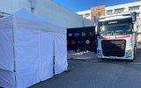 SIC tem tenda para profissionais fazerem testes rápidos à covid-19