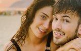 Carolina Carvalho, David Carreira, lingerie, oferta, três anos de namoro, Amor em casa