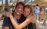 Luís Figo e a filha mais velha, Daniela