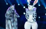 """O lobo e o coelho foram as personagens que se defrontaram na grande final de """"A Máscara"""""""