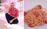 Cláudio Ramos ensina-lhe a fazer o seu prato favorito: esparguete com frango