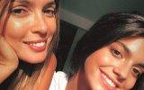 Maria Cerqueira Gomes e a filha, Francisca