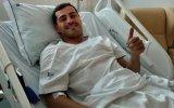 Iker Casillas há dois anos, quando sofreu um enfarte do miocárdio