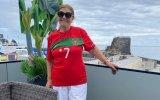 Dolores Aveiro, mãe de Cristiano Ronaldo, acredita que Portugal vai ganhar o jogo contra a França