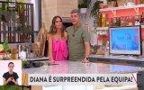 Diana Chaves, João Baião, SIC, aniversário, surpresa, lágrimas, equipa, Casa Feliz