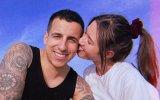 Fernando Daniel, pai, videoclipe, namorada, Sara Vidal, primeiro filho, barriga