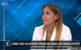 Carolina Patrocínio, covid-19, jovens, verão, críticas, SIC Notícias, Agir