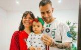 Diogo Piçarra é um namorado e pai babado