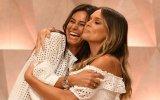 Cláudia Vieira, Diana Chaves, roupas iguais, looks, branco, marca de roupa, Casa Feliz, SIC