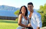 Cristiano Ronaldo e Georgina Rodríguez mostram-se a treinar juntos