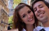 Beatriz Barosa e Manuel Marques trocam juras de amor em Paris