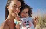 Cláudia Borges está em sofrimento pela filha mais nova, Carolina, de dois anos, que apanhou varicela