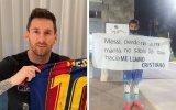 Cristiano Ronaldo e Lionel Messi estão envolvidos num momento insólito