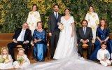 O príncipe Philippos da Grécia e Dinamarca e Nina Flohr casaram