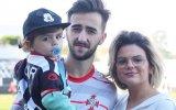Fanny Rodrigues e família