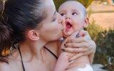 Inês Mocho e filha