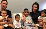 Cristiano Ronaldo e família