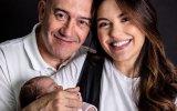 Sara Barradas, José Raposo e filha