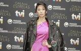 Jani Zhao foi mãe pela primeira vez