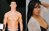 Cristiano Ronaldo e Edna Caldas