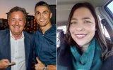 Piers Morgan, Cristiano Ronaldo e Paula Leça