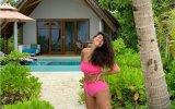 Sofia Ribeiro está nas Maldivas