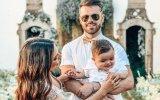 Tatiana e Rúben Boa Nova com o filho Lourenço