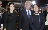 António Costa com a filha, Catarina, e a mulher, Fernanda Tadeu