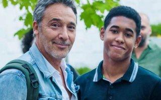Diogo Infante com o filho Filipe
