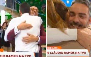 Cláudio Ramos, Manuel Luís Goucha e Maria Cerqueira Gomes