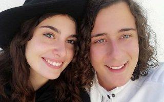 André Filipe com a namorada, Margarida Caeiro