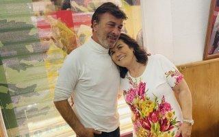 Tony Carreira e Dolores Aveiro