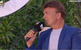 Tony Carreira pediu para tirarem música da filha durante entrevista com Goucha