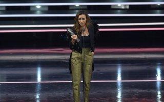 Filomena Cautela protagonizou um momento divertido na gala dos Globos de Ouro, ao apalpar o rabo de um elemento da produção